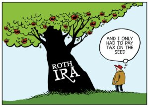 tax deductions on your Roth IRA contributions